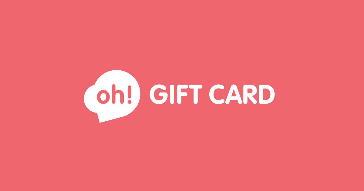 Preguntas Frecuentes Oh Gift Card